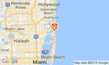 Map Miami Beach Apartment 47405