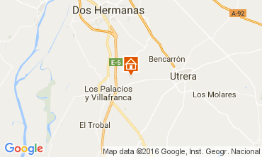 Map Utrera Self-catering property 106073