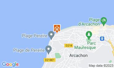 Map Arcachon Studio apartment 112926