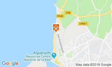 Map Boulogne/mer Villa 117469