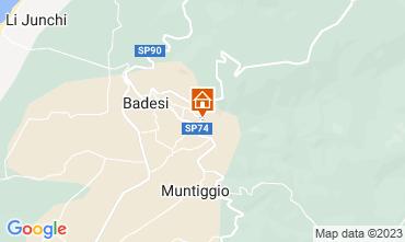 Map Badesi Apartment 43384