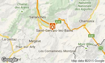Map Saint-Gervais-les-Bains Studio apartment 86819
