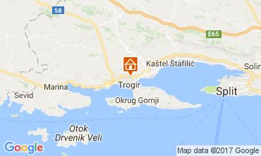 Map Trogir House 112579