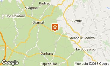 Map Rocamadour House 12347