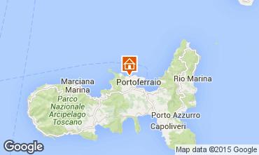 Map Portoferraio Apartment 75325