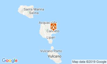 Map Lipari Villa 16874