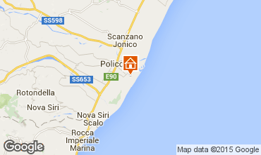 Map Policoro Villa 53617
