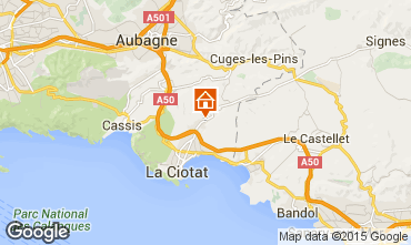 Map La Ciotat Apartment 5939