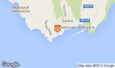 Map Santa Maria di Leuca Apartment 78965