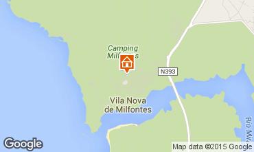 mapa vila nova de mil fontes Vila Nova De Milfontes holiday rentals for 3 people mapa vila nova de mil fontes