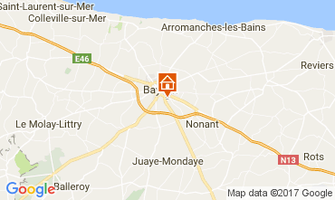 Map Bayeux Self-catering property 78802
