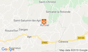 Map Rustrel Villa 119826