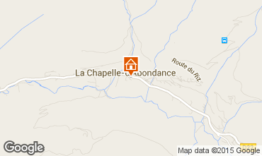 Map La Chapelle d'Abondance Apartment 68203