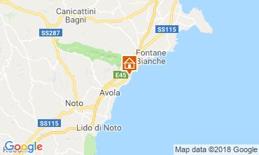 Map Avola Villa 103957