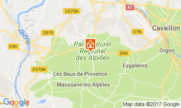 Map Saint Rémy de Provence House 112732