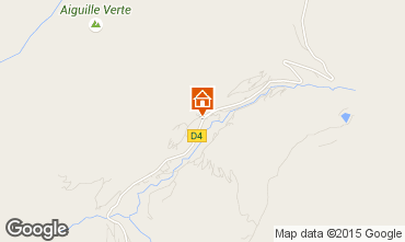 Map Le Grand Bornand Chalet 68133