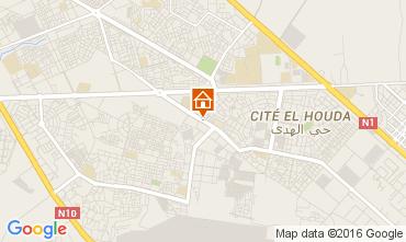 Map Agadir Apartment 105201