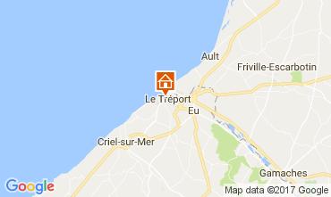 Map Le Tréport Self-catering property 108873