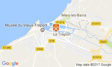 Map Le Tréport Studio apartment 108873