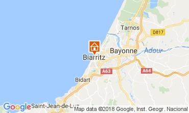 Map Biarritz Apartment 112838