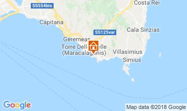 Map Villasimius Apartment 116622