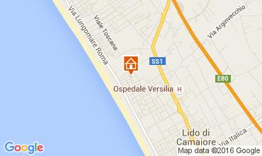 Map Marina di Pietrasanta Villa 104237