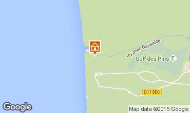 Map Hardelot Villa 50884