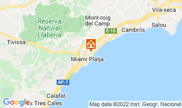 Map Cambrils House 92760