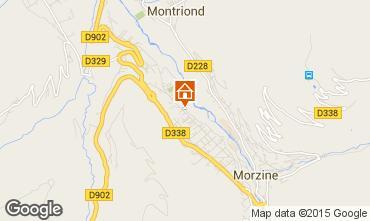 Map Morzine Apartment 39906