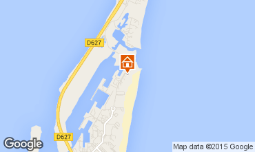 Map Port Leucate Apartment 68615