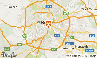 Map Rome Studio apartment 73429
