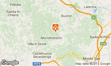 Map Siena Self-catering property 84894
