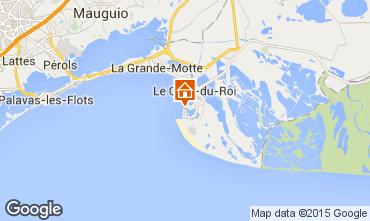 Map Le Grau du Roi Apartment 86917