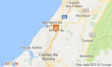 Map São Martinho do Porto Villa 115072
