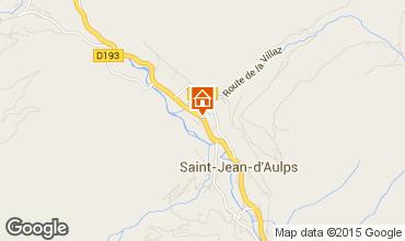 Map Saint Jean d'Aulps- La Grande Terche Chalet 70306