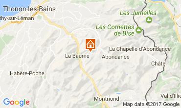 Map Morzine Chalet 38701
