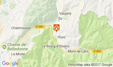 Map Alpe d'Huez Apartment 67048