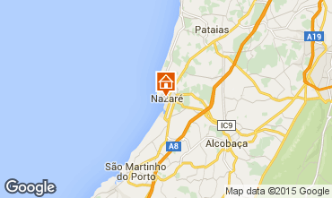 Map Nazaré Apartment 57591