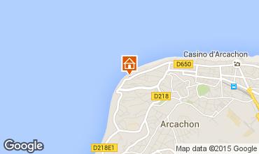 Map Arcachon Apartment 83194
