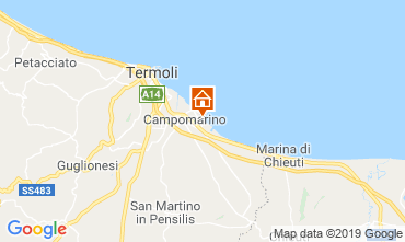 Map Campomarino Apartment 16514