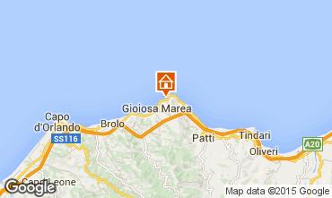 Map Gioiosa Marea Studio apartment 63200