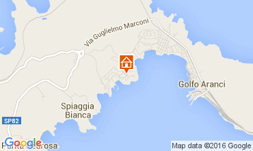 Map Aranci Gulf Apartment 66270