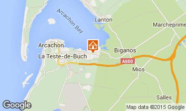 Map Arcachon Villa 69310