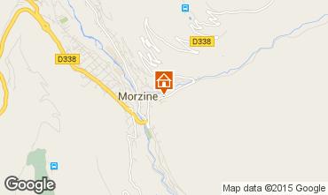 Map Morzine Chalet 43065