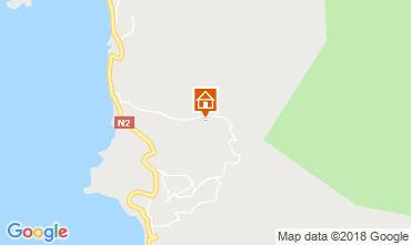 Map Bouillante Bungalow 8061
