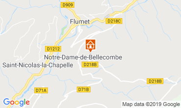 Map Notre Dame de Bellecombe Apartment 117966