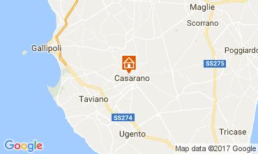 Map Casarano Apartment 111086