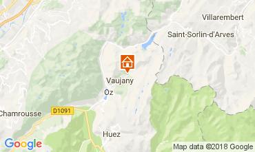 Map Alpe d'Huez Chalet 113371