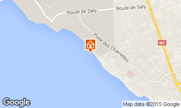 Map Saly Apartment 18457