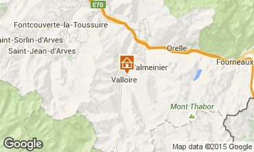 Map Valloire Flat 97653